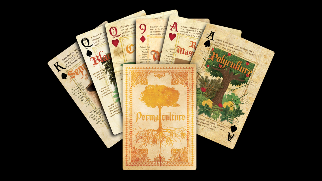 Photo of Permaculture Playing Cards