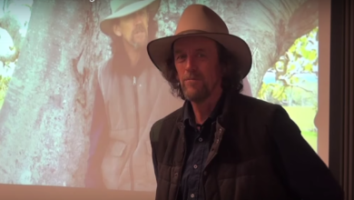 Photo of Geoff Lawton on Urban Permaculture