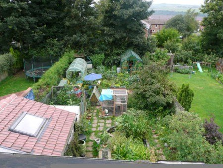 What a succesful Permaculture Backyard looks like! (courtesy of Wikipedia).