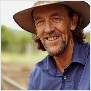 Permaculture expert Geoff Lawton.