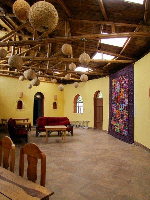 Interior of the Community Center