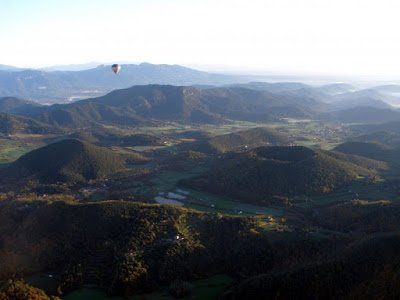Breathtaking landscapes of  La Garrotxa