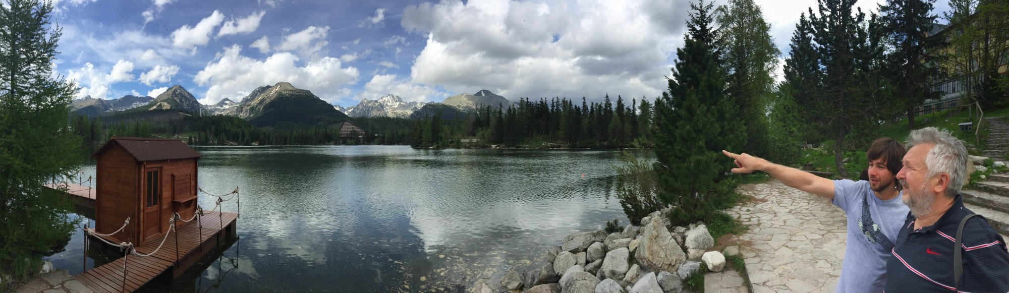 Finally, a bit of sightseeing in the magnificent High Tatras.
