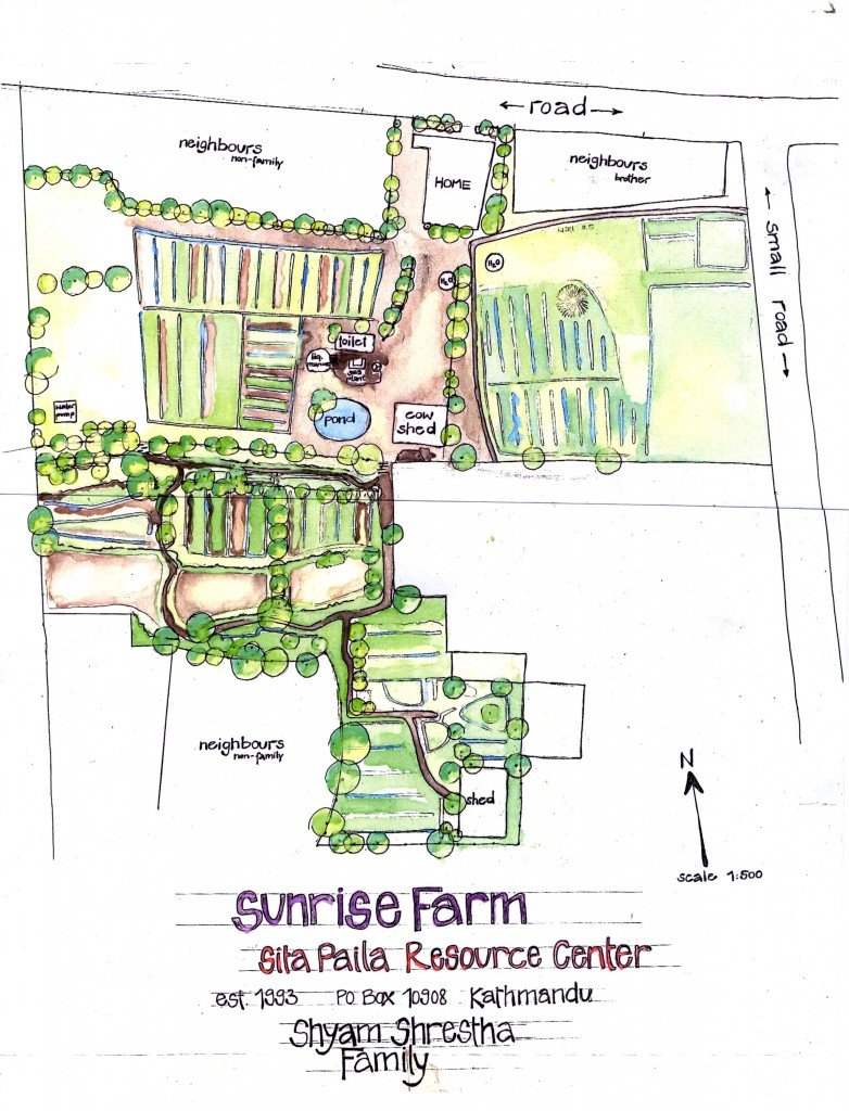 Sunrise Farm Est. 1993 Map