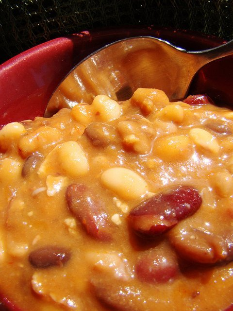 Barbecue beans (Vegan Feast Catering)