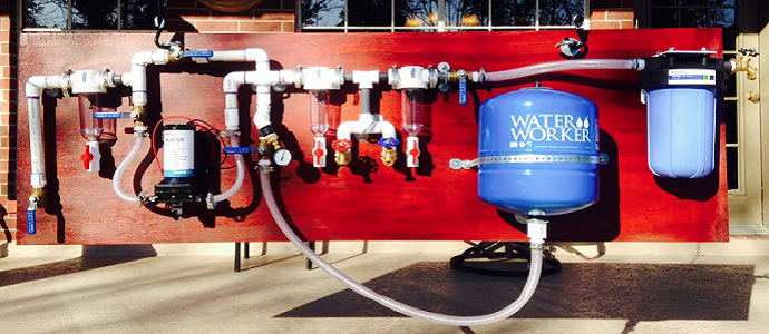 Photo of Water Treatment for Off-the-Grid Rainwater Harvesting Systems – Water Organizing Modules (WOMs)
