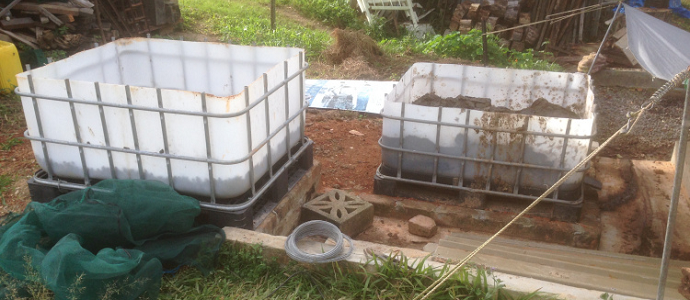 Photo of Compost Worm Farm for Chicken Food
