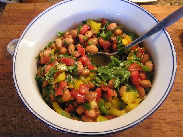 Pinto Bean Salad (Courtesy of Chelsea Nesvig)