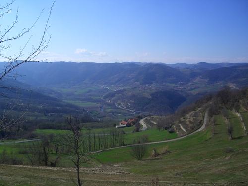 Alta Langa (Upper Langa) landscape