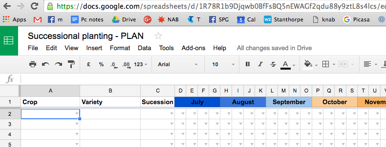 Successional Planting Spreadsheet Tool 01