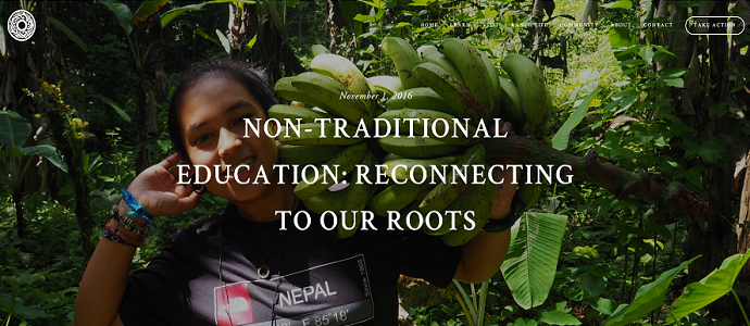 Photo of Non-Traditional Education: Reconnecting to our Roots