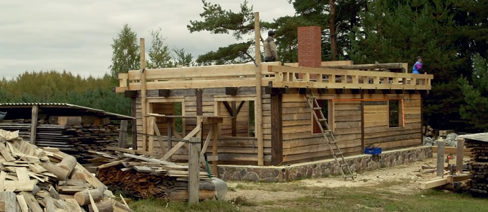 Photo of The Birth of a Wooden House: Carpentry and Resilience in Latvia