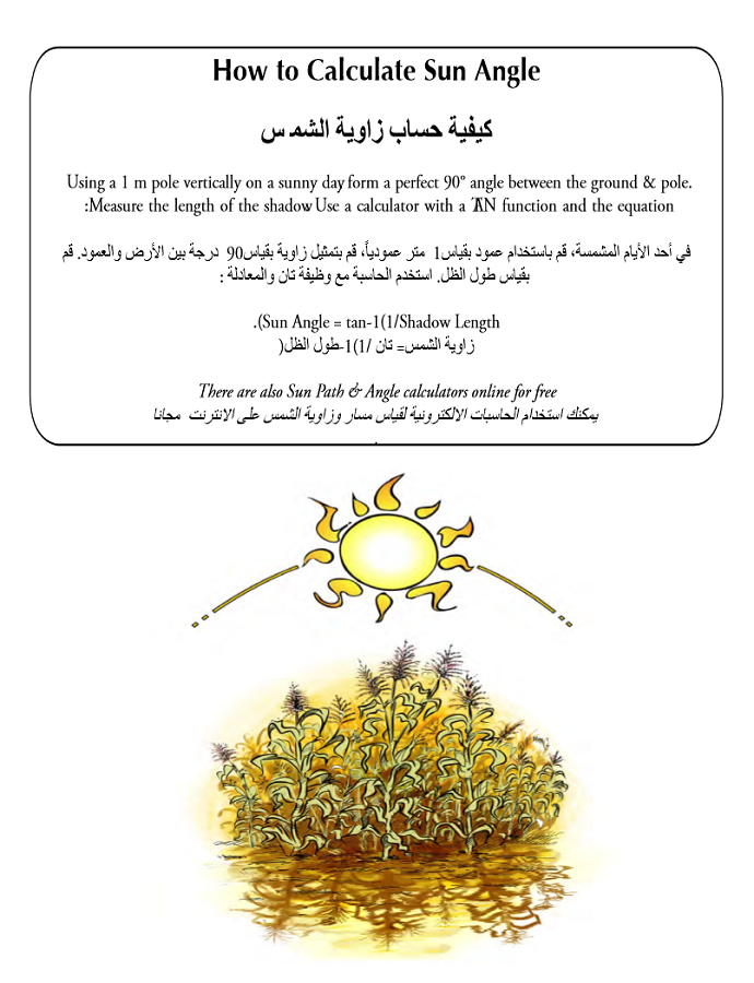 The Permaculture Student Workbook (Enlish-Arabic Version) 01