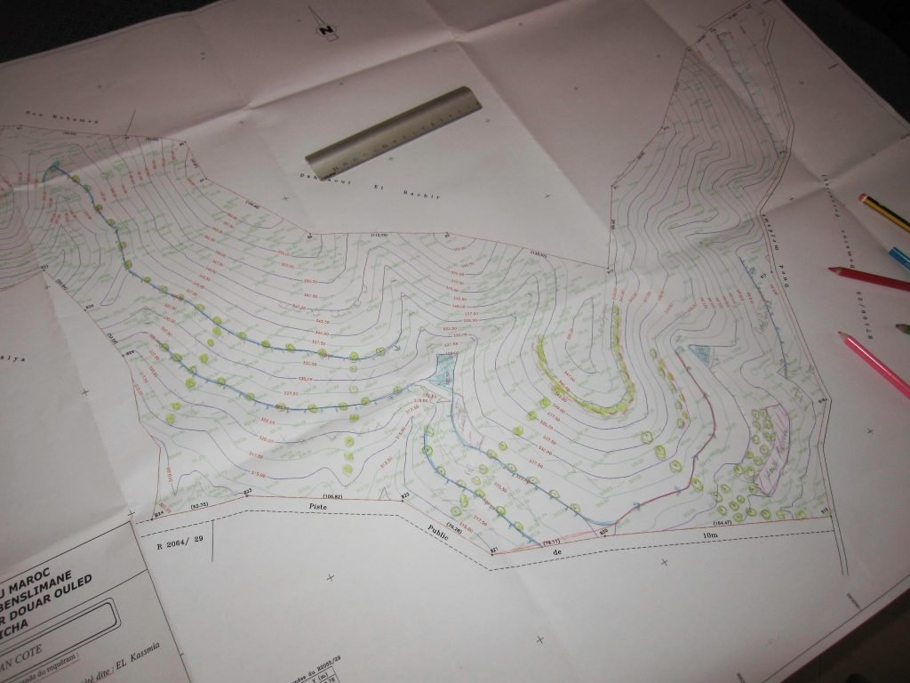 "Photo of Water Harvesting Earthworks ""Design To Reality"" . Part 1"