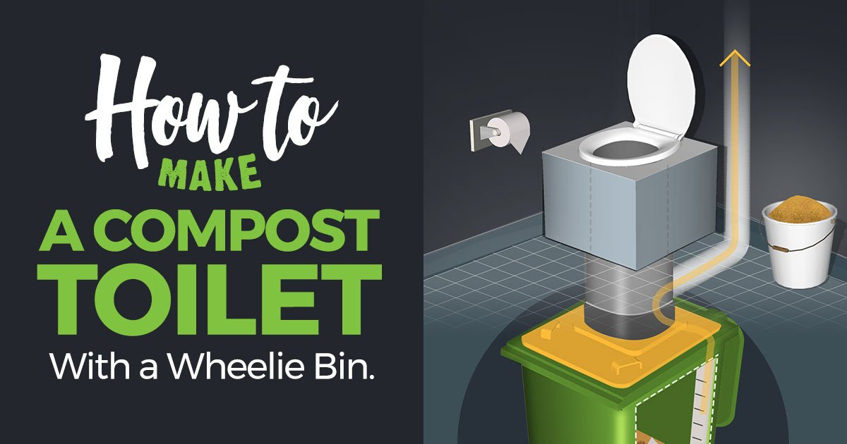 Photo of How to Make a Compost Toilet with a Wheelie Bin