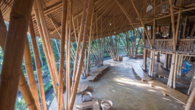Photo of Bamboo architecture
