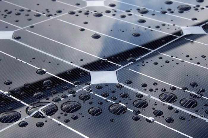 Solar Panel Reflection