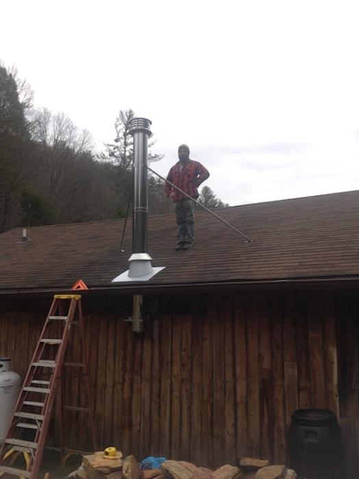 Chimney Installed