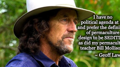 Photo of Geoff Lawton on Permaculture in Strange Times