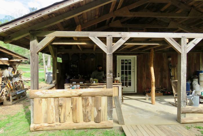 Porch from Herb Garden