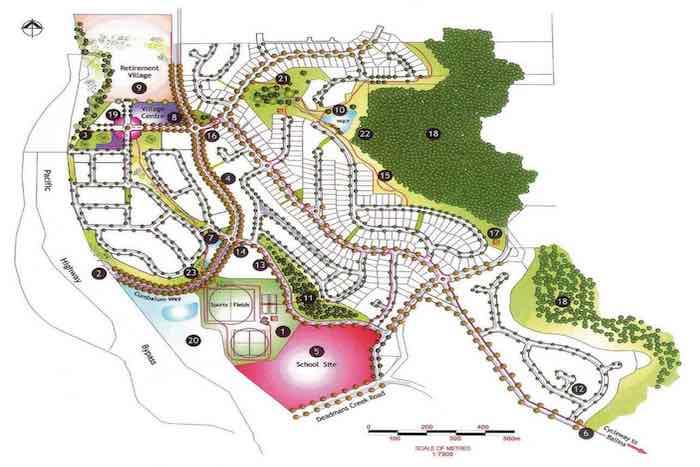 Ballina Heights Estate - Cumbalum Masterplan